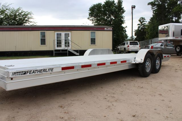 2019 Featherlite 3110 - 24 24' OPEN CAR HAULER RAISED DECK 7K DEXTER AXLES CONROE, TX 8