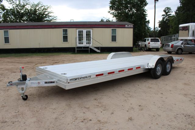 2019 Featherlite 3110 - 24 24' OPEN CAR HAULER RAISED DECK 7K DEXTER AXLES CONROE, TX 9