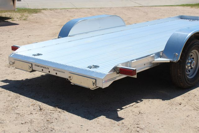 2019 Featherlite 3110 17' OPEN CAR TRAILER W/ 4.8K AXLES & RUB RAILS CONROE, TX 13