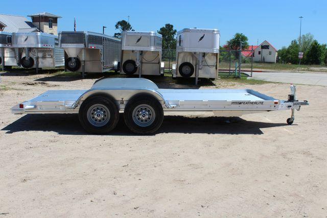 2019 Featherlite 3110 17' OPEN CAR TRAILER W/ 4.8K AXLES & RUB RAILS CONROE, TX 16
