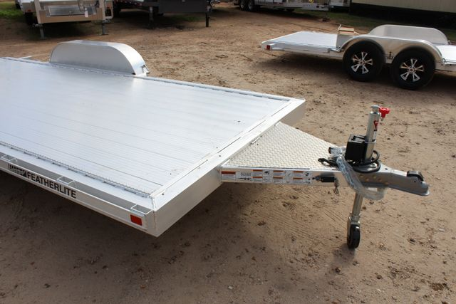 "2019 Featherlite 3182 - 16 16' OPEN CAR HAULER 83.5"" WIDE DECK ALUMINUM WHLS CONROE, TX 2"