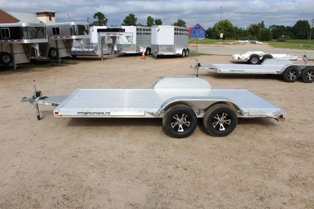 "2019 Featherlite 3182 - 16 16' OPEN CAR HAULER 83.5"" WIDE DECK ALUMINUM WHLS CONROE, TX 8"