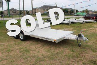 2019 Featherlite 3182 - 16 16' OPEN CAR HAULER WITH ALUMINUM WHEELS CONROE, TX