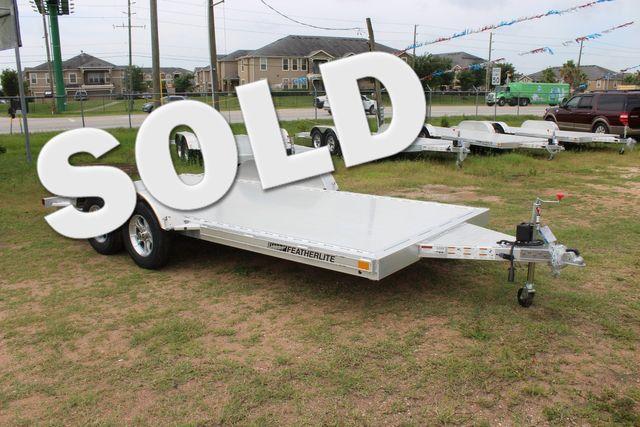 2019 Featherlite 3182 - 16 16' OPEN CAR HAULER WITH ALUMINUM WHEELS CONROE, TX 0