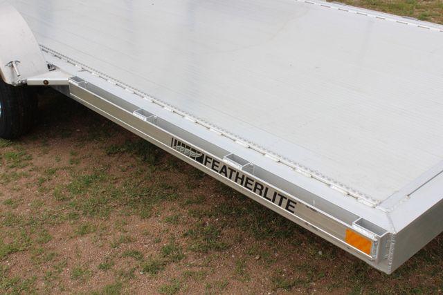 2019 Featherlite 3182 - 16 16' OPEN CAR HAULER WITH ALUMINUM WHEELS CONROE, TX 1