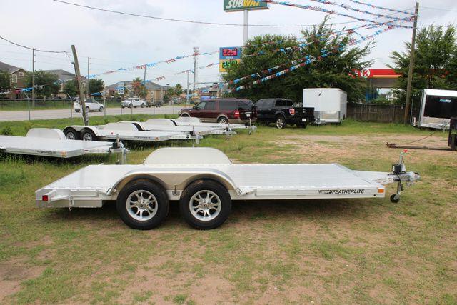 2019 Featherlite 3182 - 16 16' OPEN CAR HAULER WITH ALUMINUM WHEELS CONROE, TX 14