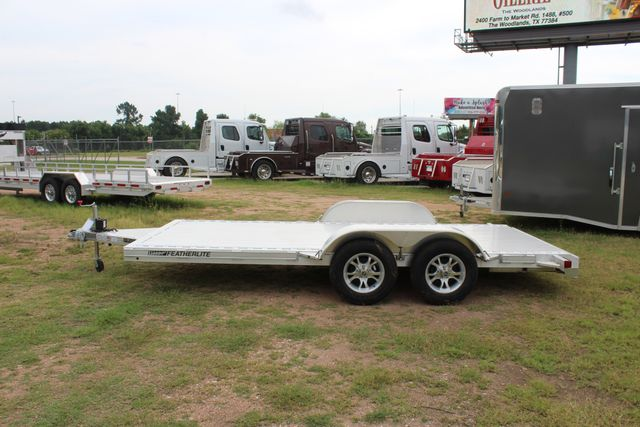 2019 Featherlite 3182 - 16 16' OPEN CAR HAULER WITH ALUMINUM WHEELS CONROE, TX 8