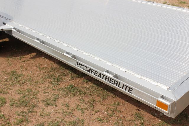 2019 Featherlite 3182 - 18 18' OPEN CAR TRAILER WITH ALUMINUM WHEELS CONROE, TX 1