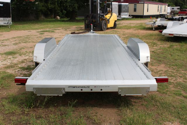 2019 Featherlite 3182 - 18 18' OPEN CAR TRAILER WITH ALUMINUM WHEELS CONROE, TX 10