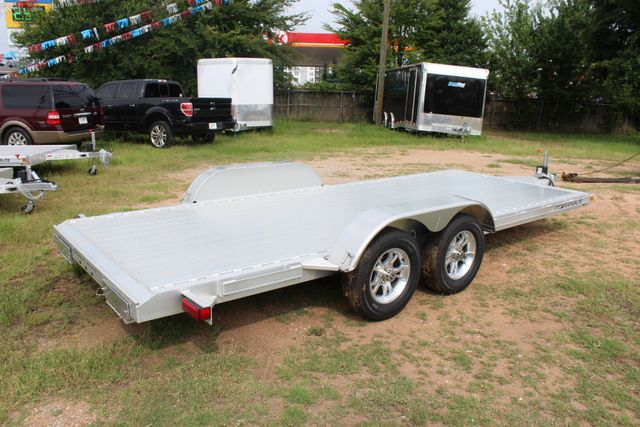 2019 Featherlite 3182 - 18 18' OPEN CAR TRAILER WITH ALUMINUM WHEELS CONROE, TX 12