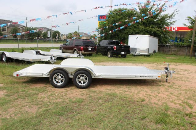 2019 Featherlite 3182 - 18 18' OPEN CAR TRAILER WITH ALUMINUM WHEELS CONROE, TX 14
