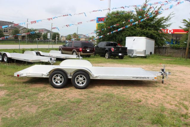 2019 Featherlite 3182 - 18 18' OPEN CAR TRAILER WITH ALUMINUM WHEELS CONROE, TX 15