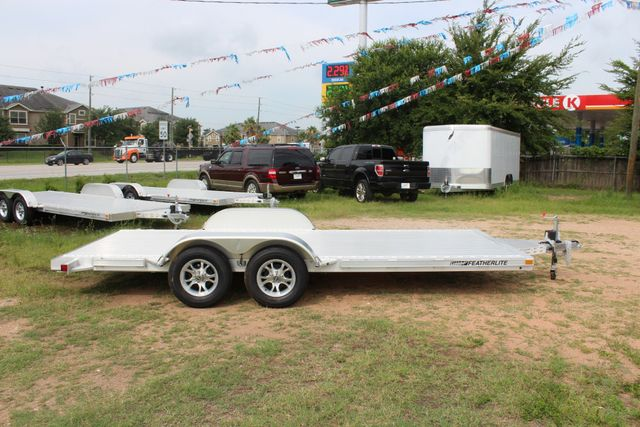 2019 Featherlite 3182 - 18 18' OPEN CAR TRAILER WITH ALUMINUM WHEELS CONROE, TX 16
