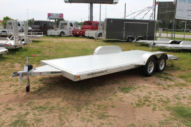2019 Featherlite 3182 - 18 18' OPEN CAR TRAILER WITH ALUMINUM WHEELS CONROE, TX 7