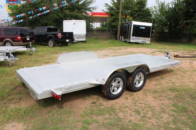 2019 Featherlite 3182 - 18 18' OPEN CAR HAULER WITH ALUMINUM WHEELS CONROE, TX 12