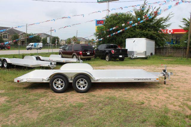 2019 Featherlite 3182 - 18 18' OPEN CAR HAULER WITH ALUMINUM WHEELS CONROE, TX 13