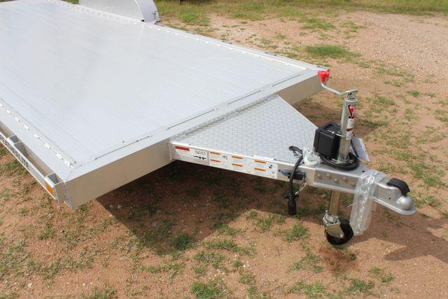 2019 Featherlite 3182 - 18 18' OPEN CAR HAULER WITH ALUMINUM WHEELS CONROE, TX 2