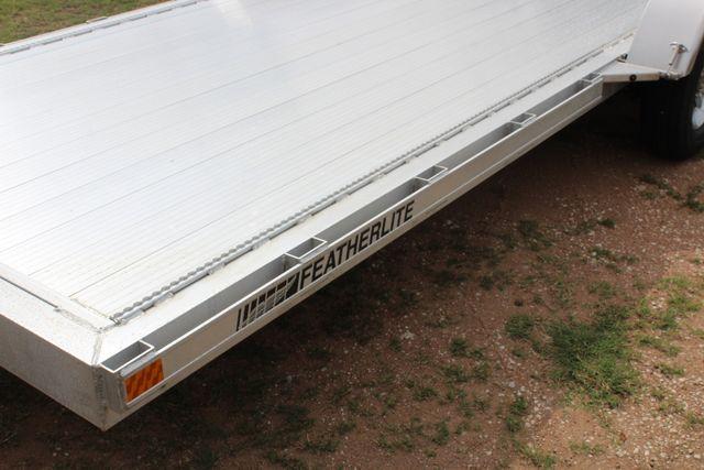 2019 Featherlite 3182 - 18 18' OPEN CAR HAULER WITH ALUMINUM WHEELS CONROE, TX 6