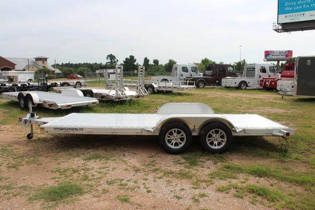 2019 Featherlite 3182 - 18 18' OPEN CAR HAULER WITH ALUMINUM WHEELS CONROE, TX 8