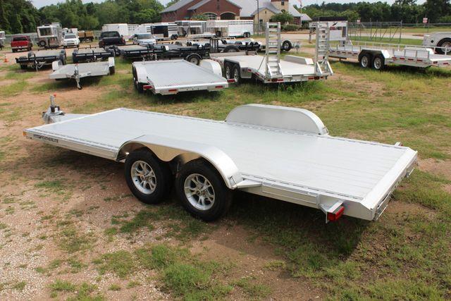 2019 Featherlite 3182 - 18 18' OPEN CAR HAULER WITH ALUMINUM WHEELS CONROE, TX 9
