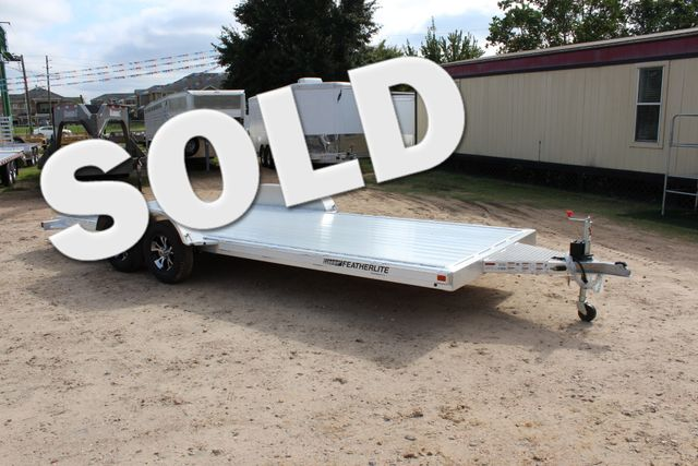 2019 Featherlite 3182 20' OPEN CAR TRAILER CONROE, TX 0