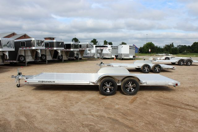 2019 Featherlite 3182 20' OPEN CAR TRAILER CONROE, TX 9