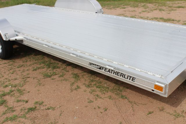 2019 Featherlite 3182 20' OPEN CAR HAULER WITH ALUMINUM WHEELS CONROE, TX 1