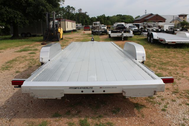 2019 Featherlite 3182 20' OPEN CAR HAULER WITH ALUMINUM WHEELS CONROE, TX 13