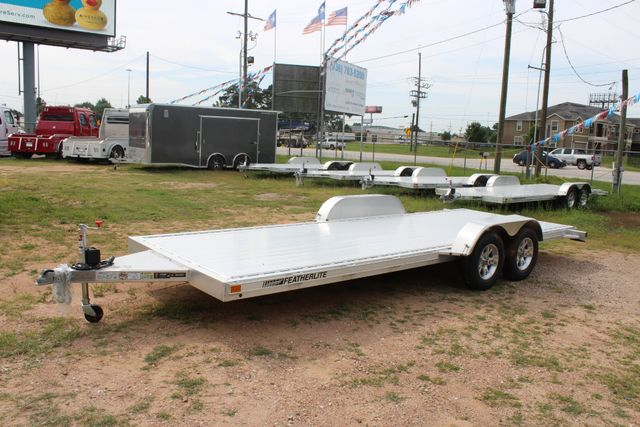 2019 Featherlite 3182 20' OPEN CAR HAULER WITH ALUMINUM WHEELS CONROE, TX 7