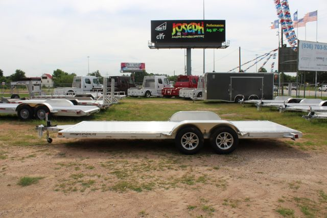 2019 Featherlite 3182 20' OPEN CAR HAULER WITH ALUMINUM WHEELS CONROE, TX 8