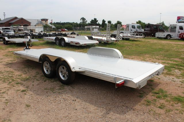 2019 Featherlite 3182 20' OPEN CAR HAULER WITH ALUMINUM WHEELS CONROE, TX 9