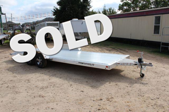 2019 Featherlite 3182 20' OPEN CAR TRAILER - BUMPER PULL CONROE, TX 0