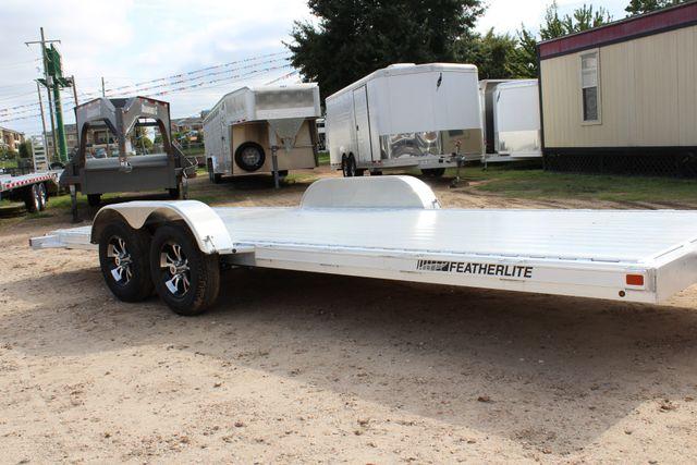 2019 Featherlite 3182 20' OPEN CAR TRAILER - BUMPER PULL CONROE, TX 1