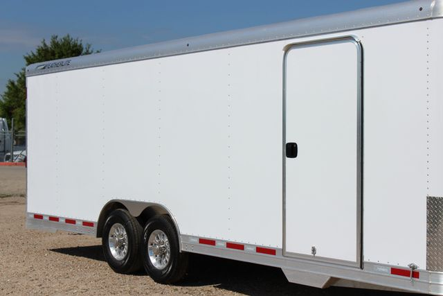 2019 Featherlite 4926 24' - ENCLOSED CAR HAULER BUMPER PULL WITH SPARE CONROE, TX 1