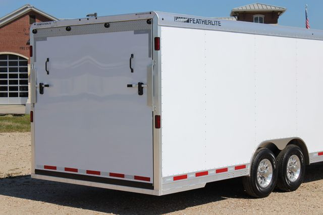 2019 Featherlite 4926 24' - ENCLOSED CAR HAULER BUMPER PULL WITH SPARE CONROE, TX 11