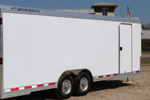 2019 Featherlite 4926 24' - ENCLOSED CAR HAULER BUMPER PULL WITH SPARE CONROE, TX 12