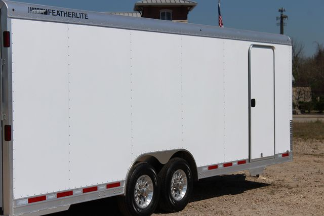 2019 Featherlite 4926 24' - ENCLOSED CAR HAULER BUMPER PULL WITH SPARE CONROE, TX 13