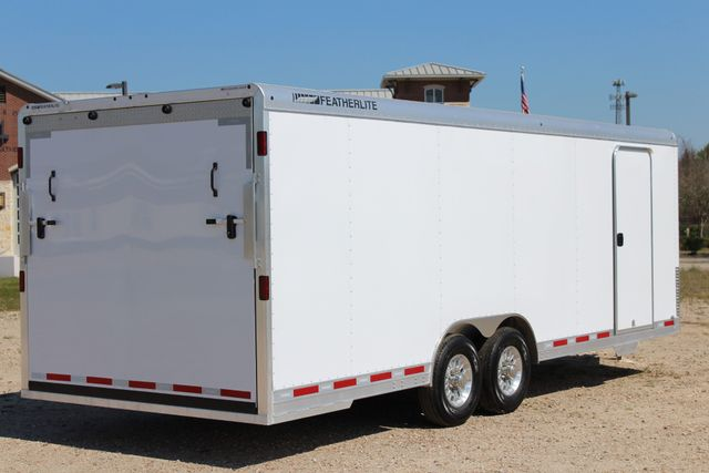 2019 Featherlite 4926 24' - ENCLOSED CAR HAULER BUMPER PULL WITH SPARE CONROE, TX 14