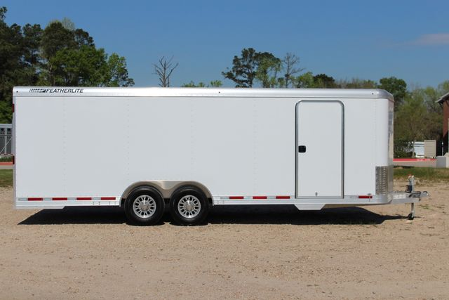 2019 Featherlite 4926 24' - ENCLOSED CAR HAULER BUMPER PULL WITH SPARE CONROE, TX 15
