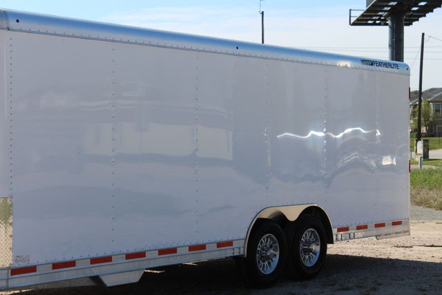 2019 Featherlite 4926 24' - ENCLOSED CAR HAULER BUMPER PULL WITH SPARE CONROE, TX 5
