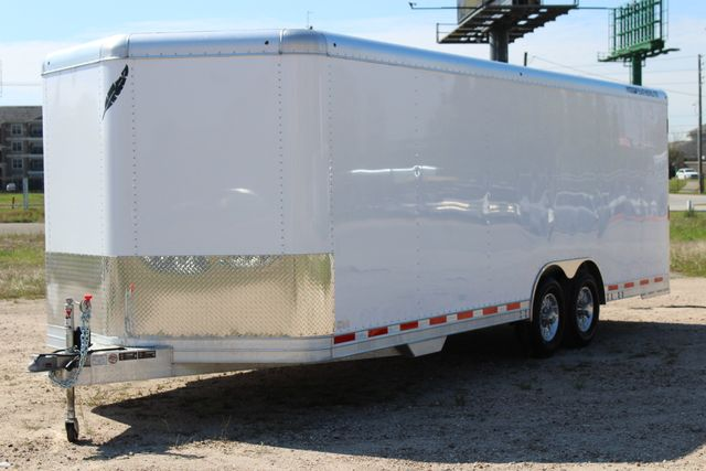 2019 Featherlite 4926 24' - ENCLOSED CAR HAULER BUMPER PULL WITH SPARE CONROE, TX 6