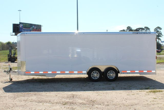 2019 Featherlite 4926 24' - ENCLOSED CAR HAULER BUMPER PULL WITH SPARE CONROE, TX 7
