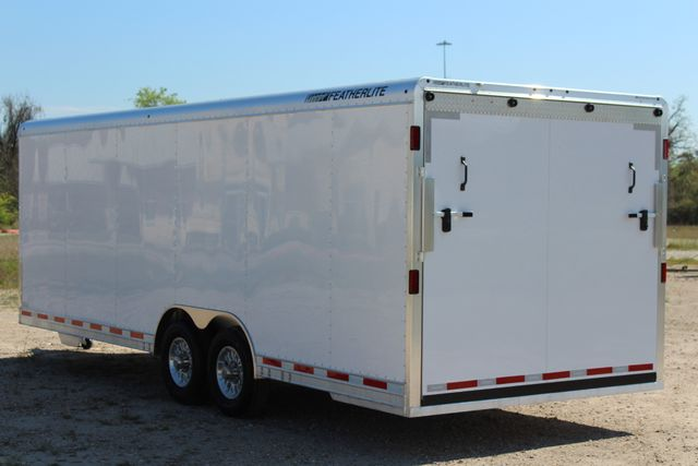 2019 Featherlite 4926 24' - ENCLOSED CAR HAULER BUMPER PULL WITH SPARE CONROE, TX 8