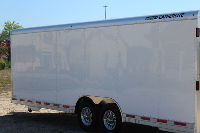 2019 Featherlite 4926 24' - ENCLOSED CAR HAULER BUMPER PULL WITH SPARE CONROE, TX 9