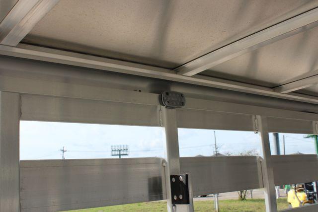 2019 Featherlite 8117 20' GN LIVESTOCK CATTLE TRAILER W SLIDER CUT GATE CONROE, TX 21