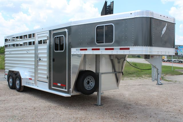 2019 Featherlite 8413 - STOCK/ COMBO 20' - Straight Wall Tack CONROE, TX 35