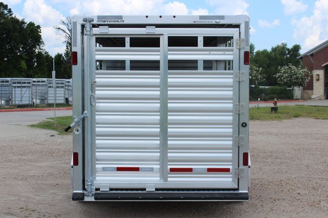 2019 Featherlite 8413 - STOCK/ COMBO 20' - Straight Wall Tack CONROE, TX 12