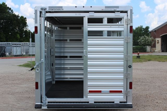 2019 Featherlite 8413 - STOCK/ COMBO 20' - Straight Wall Tack CONROE, TX 13