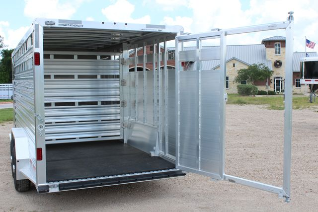 2019 Featherlite 8413 - STOCK/ COMBO 20' - Straight Wall Tack CONROE, TX 14