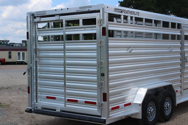 2019 Featherlite 8413 - STOCK/ COMBO 20' - Straight Wall Tack CONROE, TX 23